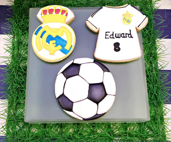 Soccer Cookies - Soccer Party Ideas