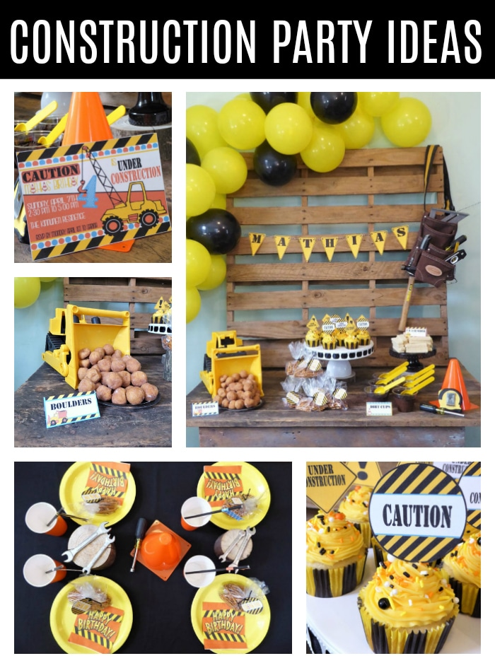 Construction Birthday Party on Pretty My Party