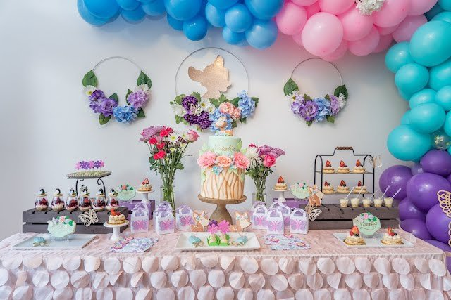 Bambi Garden Dessert Table