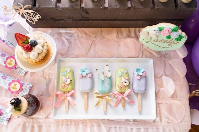 Bambi Cake Popsicles