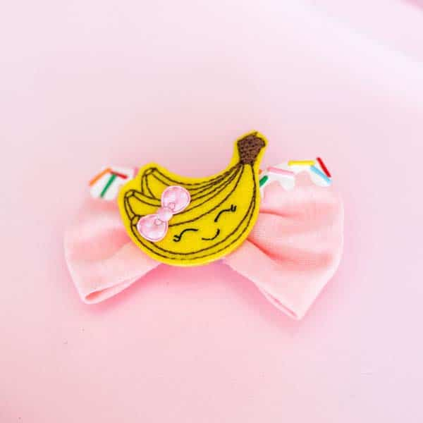 Adorable Banana Hair Clip