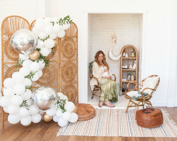 Boho Themed Baby Shower Ideas