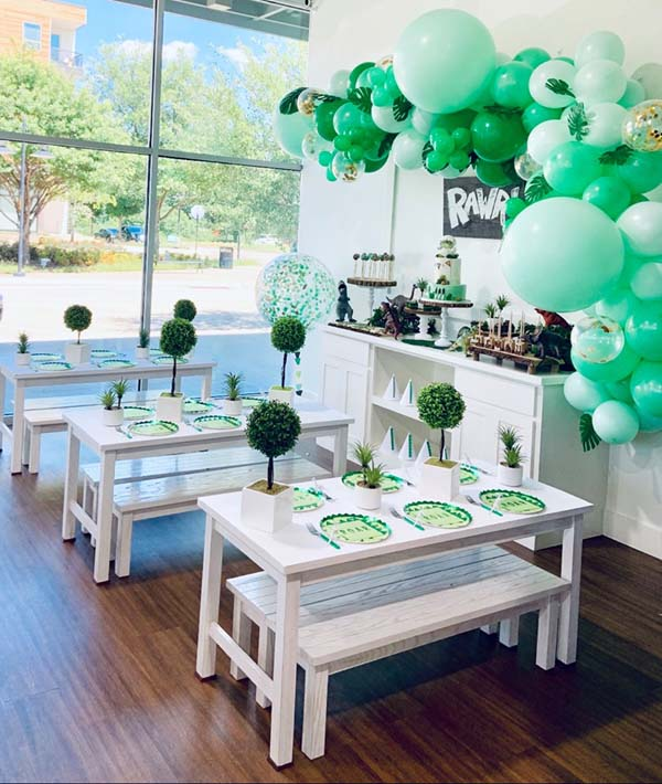Dinosaur Themed Birthday Party Ideas For Kids