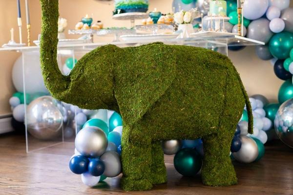 Elephant Baby Shower Decoration