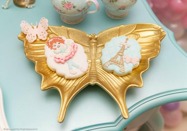 Fancy Nancy Birthday Cookies