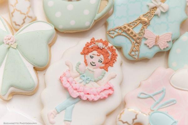 Fancy Nancy Themed Cookies