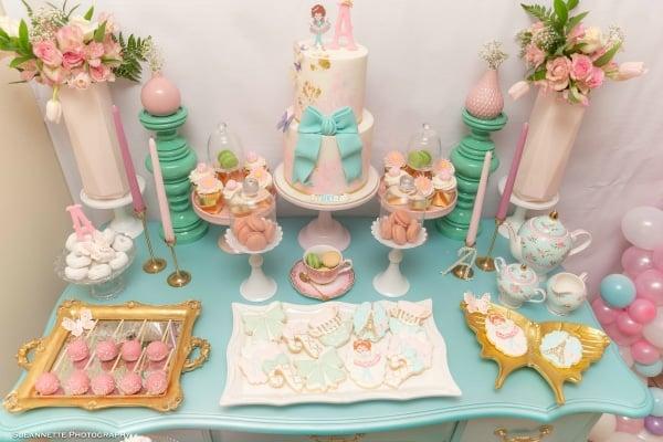 Fancy Nancy Dessert Table