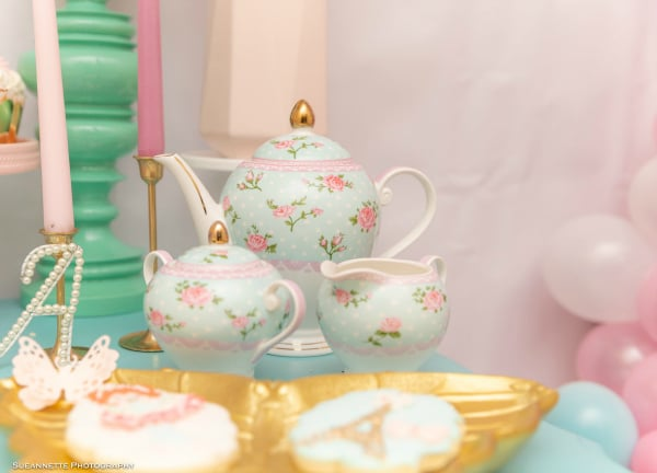 Fancy Nancy Party Tea Set