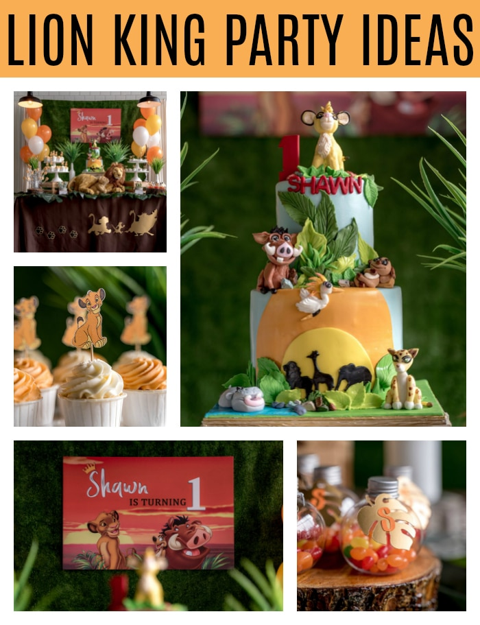 Lion King Party Ideas on Pretty My Party
