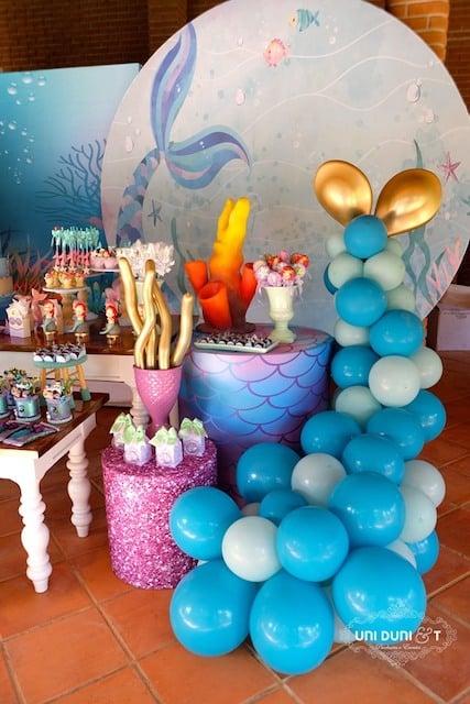Little Mermaid Party Decor