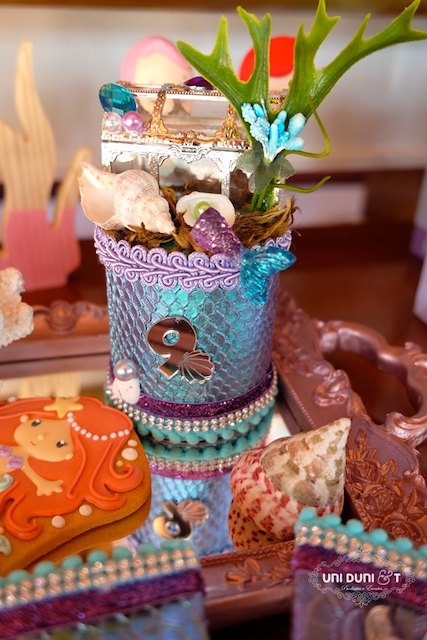 Little Mermaid Birthday Decor