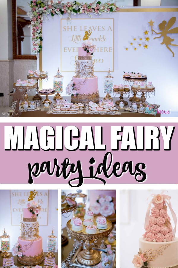 Enchanted Fairy 1st Birthday Party on Pretty My Party