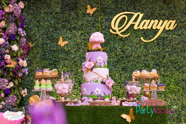 Tinkerbell Party Dessert Table