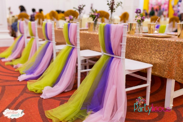 Tinkerbell Party Chair Decor