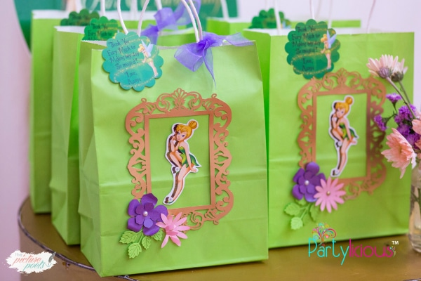 Tinkerbell Party Favor Bags
