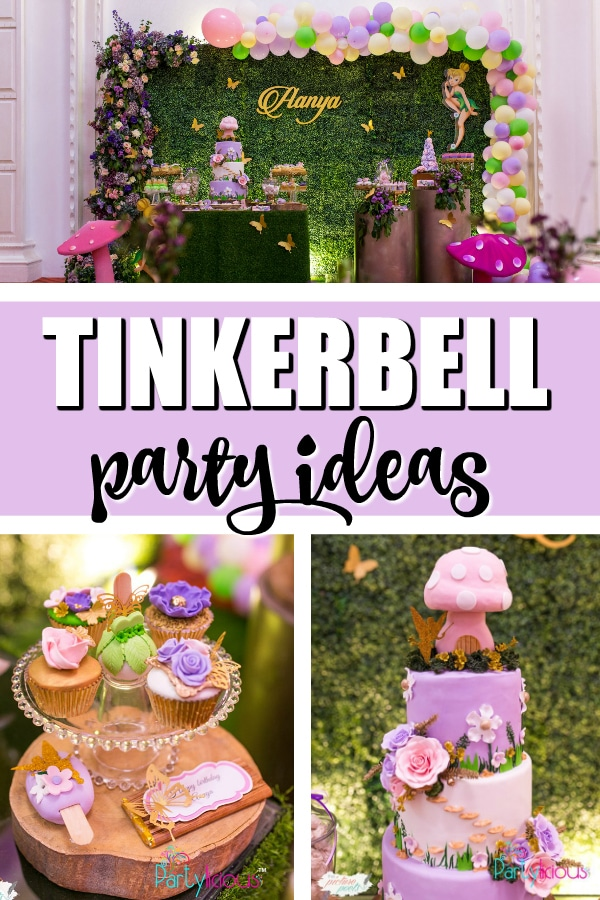 Tinkerbell Fairy Garden Party on Pretty My Party