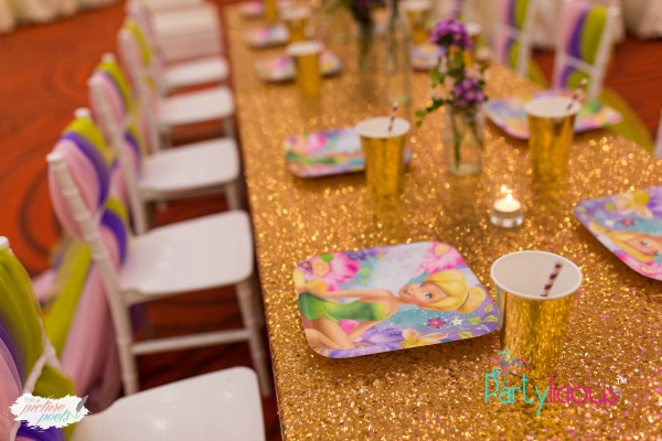 Tinkerbell Party Tables