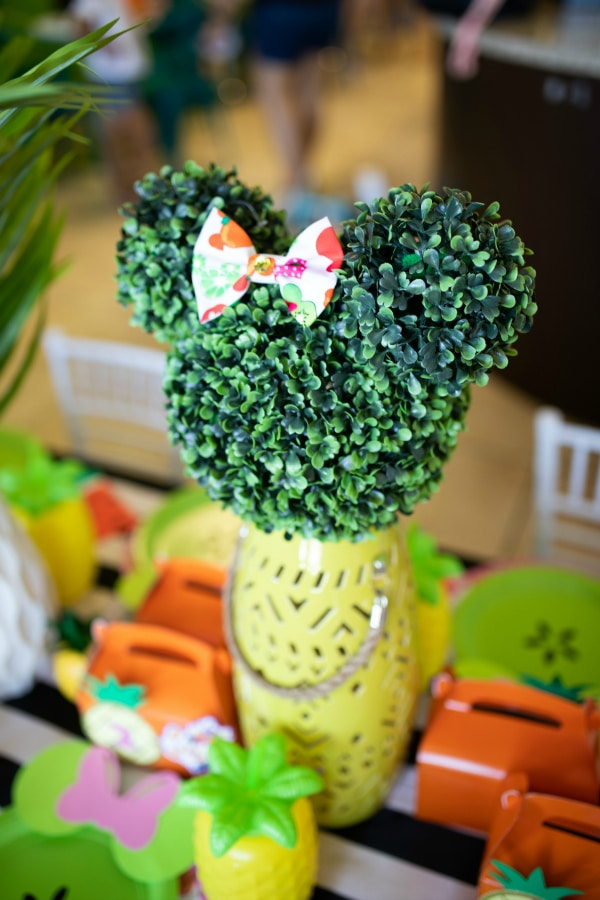 Tutti Frutti Minnie Mouse Party Decorations on Pretty My Party