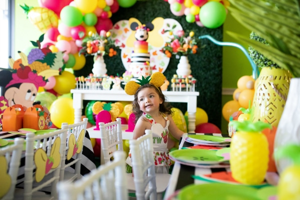 Tutti Frutti Minnie Mouse Party Ideas on Pretty My Party
