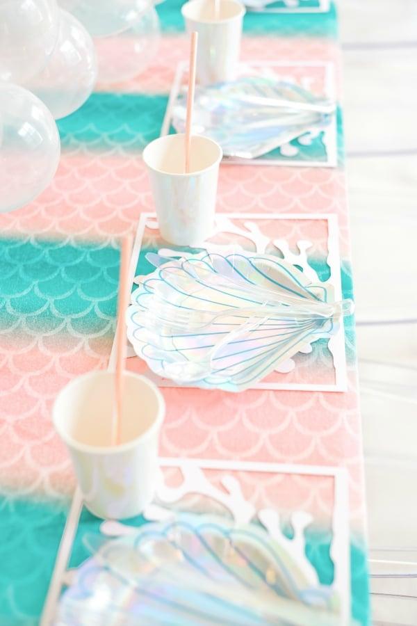 Seashell Party Plates
