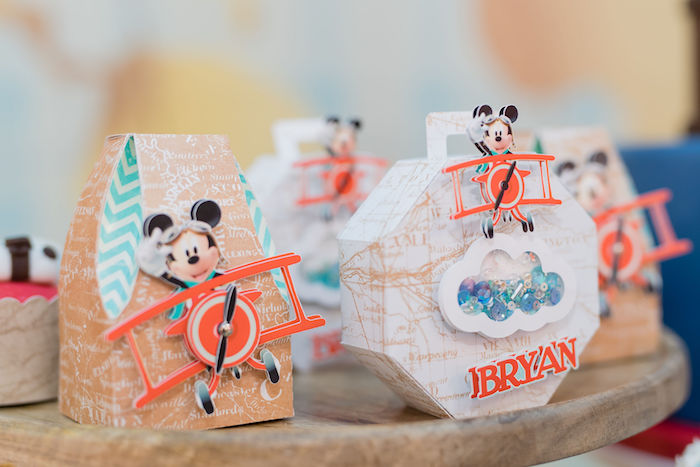 Mickey Mouse Aviator Themed Decorations