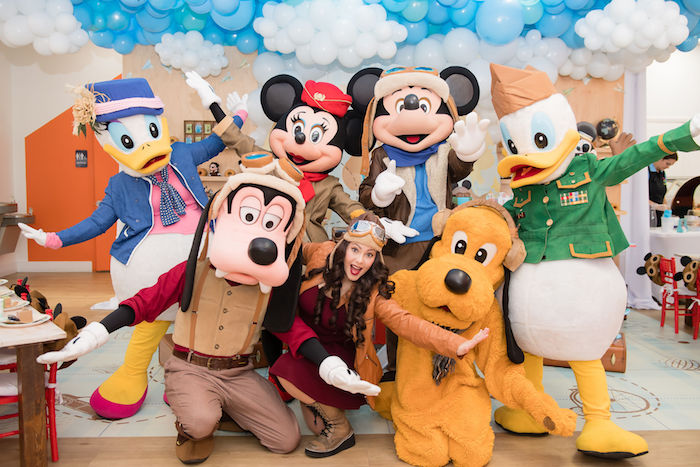 Mickey and Friends Photo Booth
