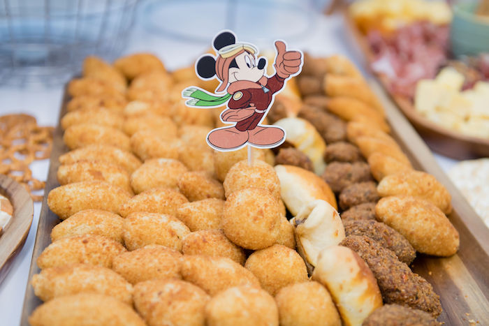 Aviator Mickey Mouse Party Food