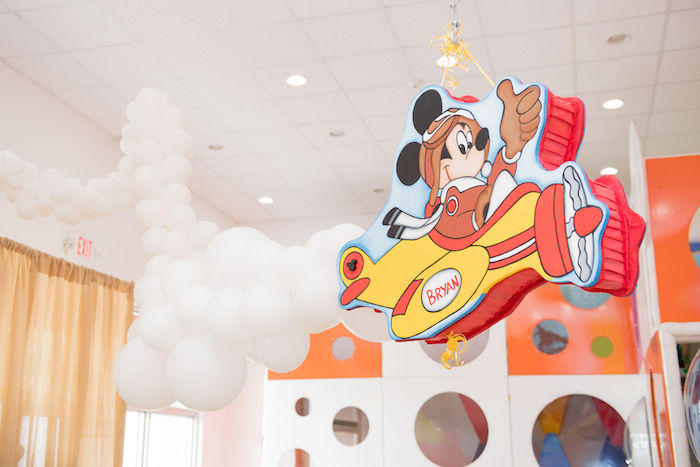 Mickey Mouse Airplane Party Decoration