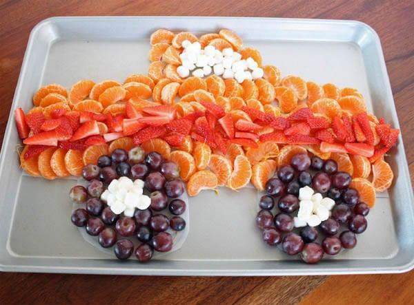 Easy Monster Truck Fruit Platter