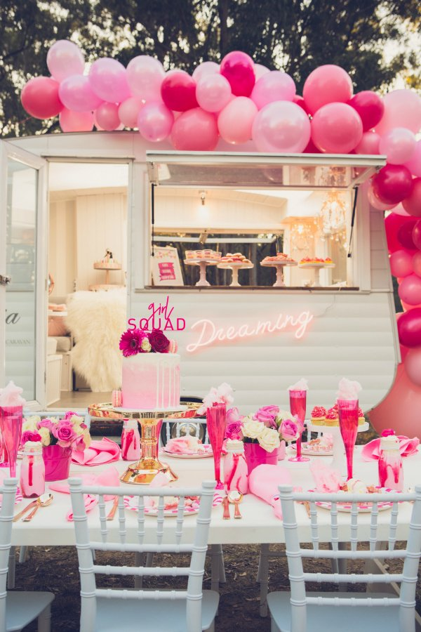 Pink Glamping Party