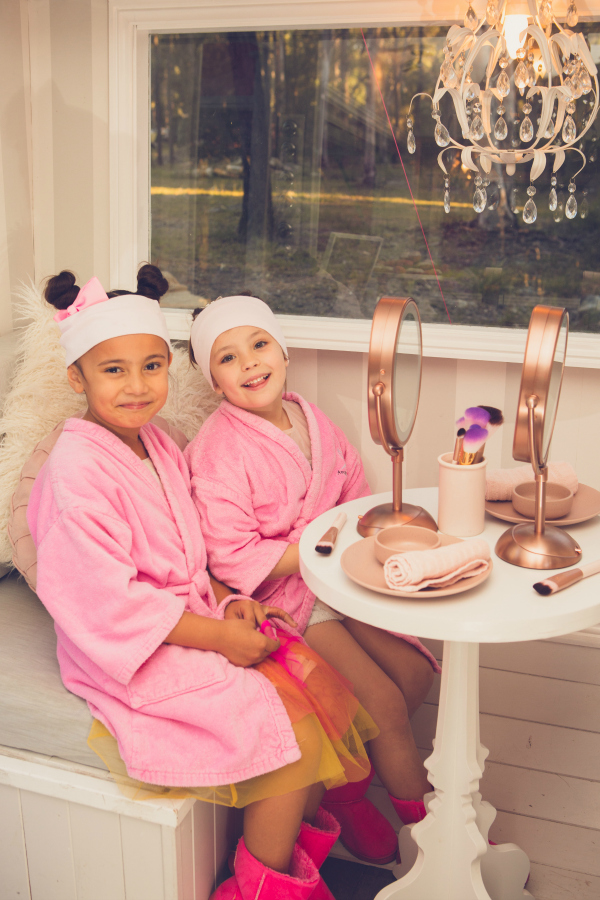Glamping Party Pamper Station