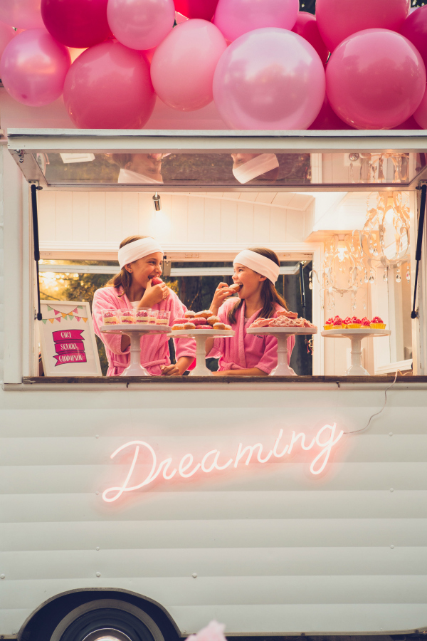 Pink Glamping Party Ideas For Girls