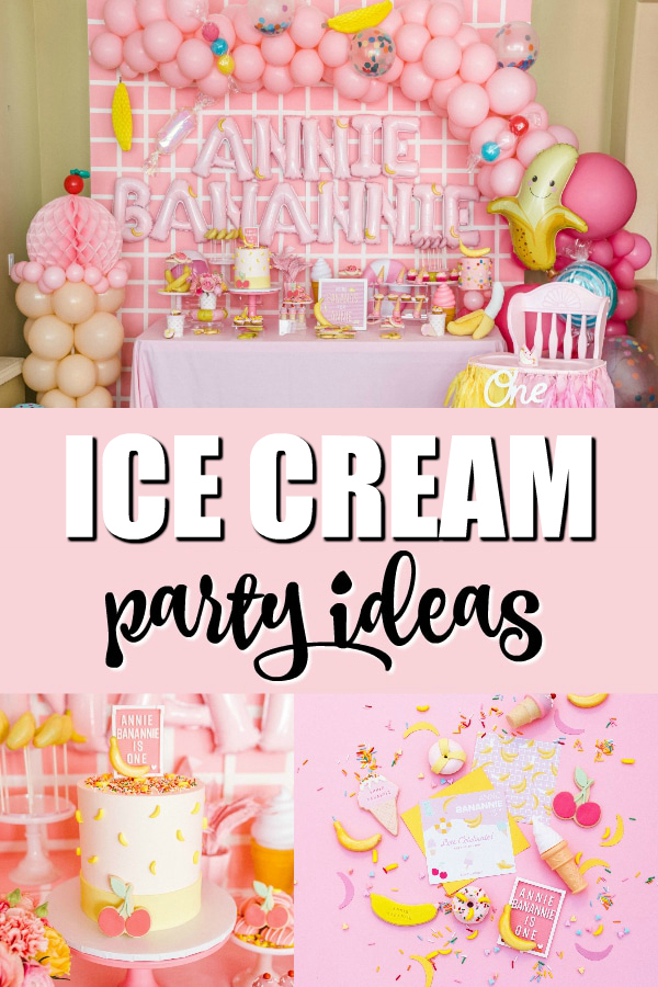 Museum of Ice Cream Inspired 1st Birthday Party on Pretty My Party