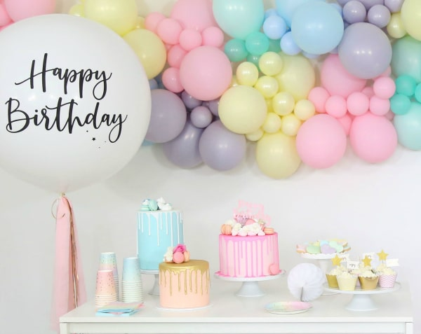 Pastel Party Decorations