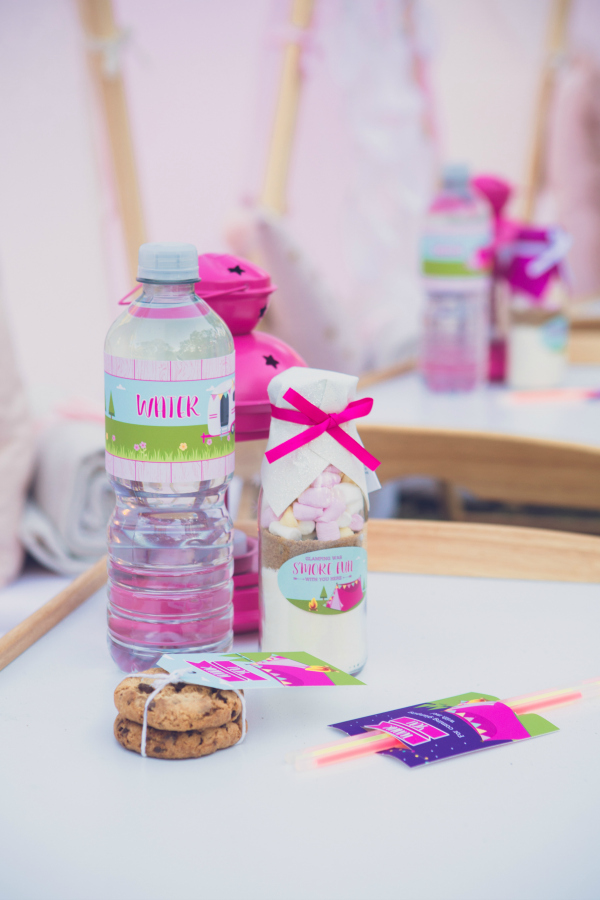 Glamping Party Printables