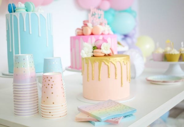 Pastel Party Tableware