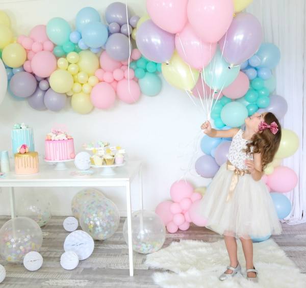 Sorbet Pastel Birthday Party Decor