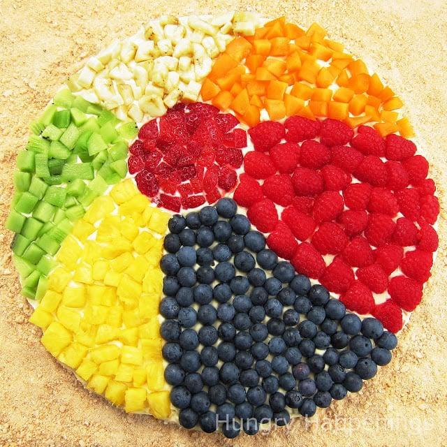 Beach Ball Fruit Platter