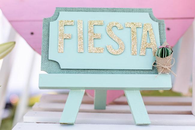 Fiesta Sign