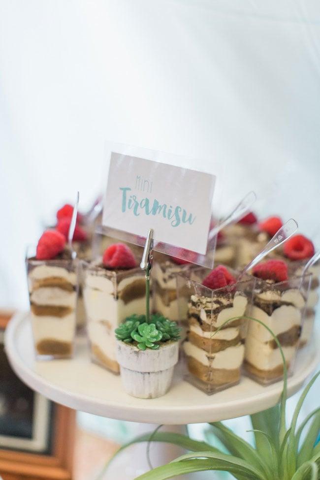 Mini Tiramisu Desserts