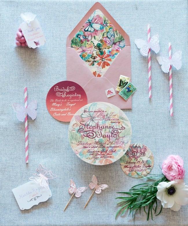 High Tea Bridal Shower Invitation