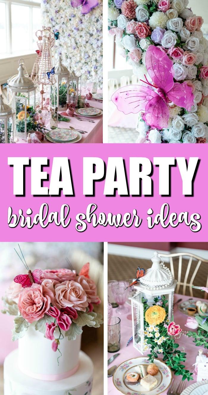 High Tea Bridal Shower Ideas on Pretty My Party