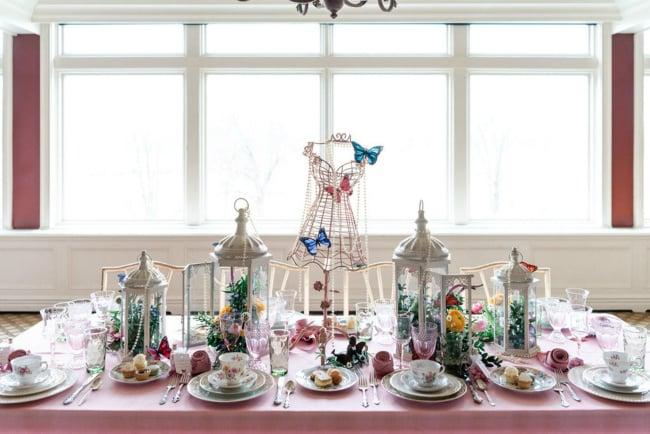 High Tea Bridal Shower Table