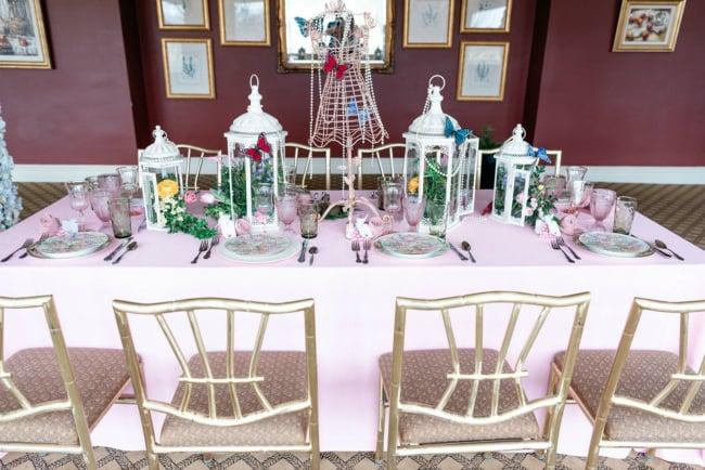 High Tea Bridal Shower Table Idea