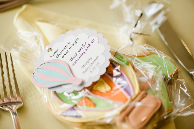 Hot Air Balloon Favor Tags