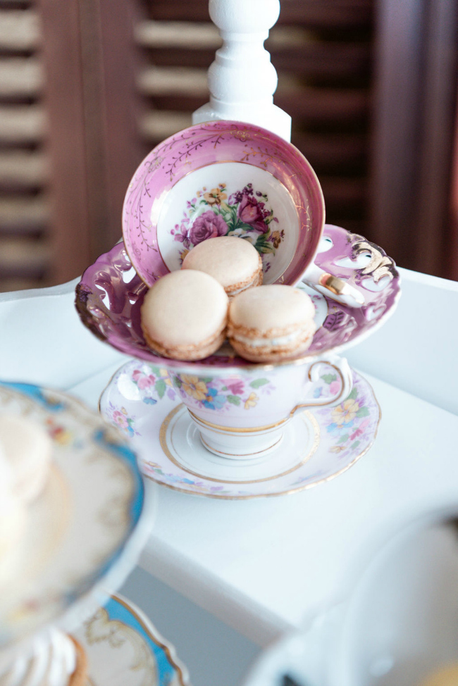 Tea Party Macaroons