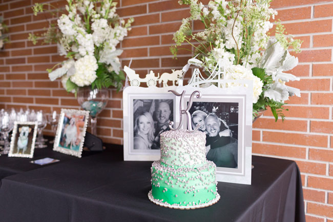 Mint To Be Bridal Shower Cake