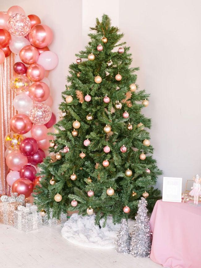 Pink Nutcracker Themed Party Christmas Tree