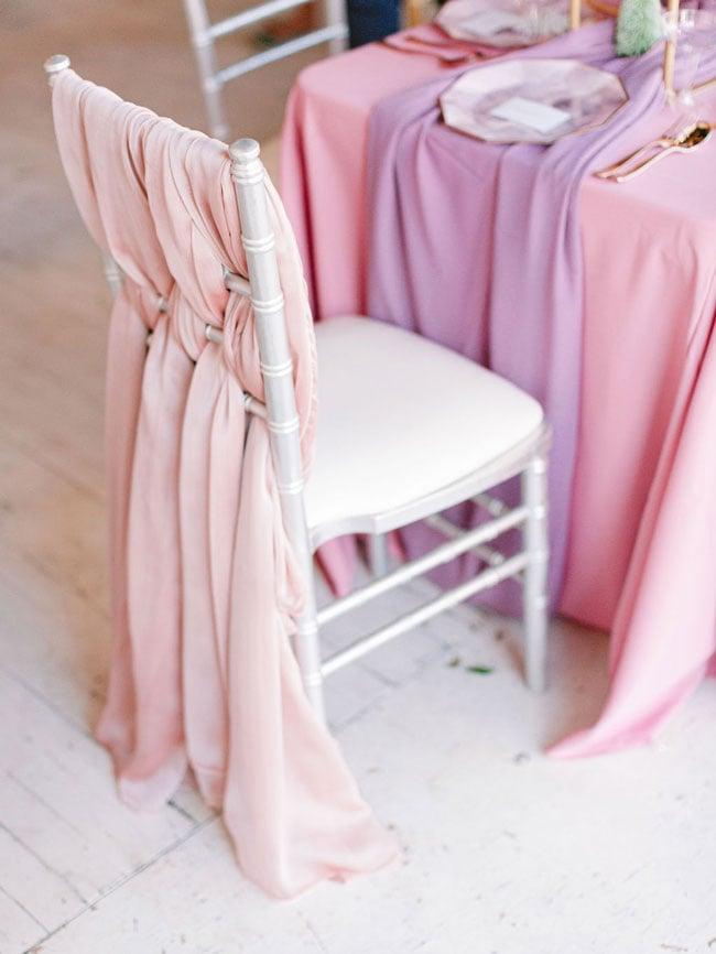 Pink Chair Decor