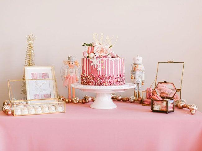 Pink Nutcracker Themed Party